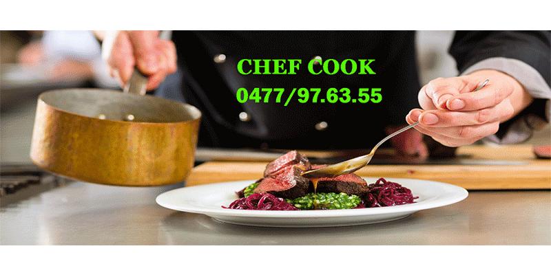 Chef Cook à domicile